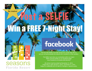 Seasons Facebook contest